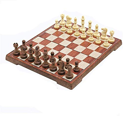 GLXLSBZ Chess Set Portable Chess Set Chess Game International Chess Set for Party Family Activities Chess,28Cm
