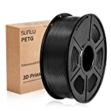SUNLU PETG Filamento 3D 1.75mm 1KG (2.2lb), Filamento de impresora PETG 3D, Precisión dimensional...