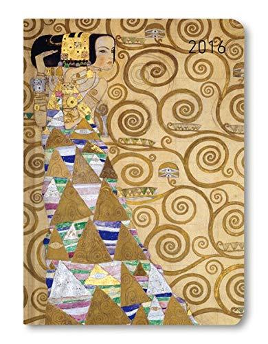 Ladytimer Klimt 2016 - Taschenplaner / Taschenkalender A6 - Weekly - 192 Seiten