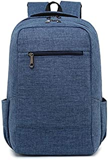 AchirStyle Travel Laptop Backpack, Portable Business Slim Durable Laptops Backpack, Fashion College School Computer Bag for Women & Men Fits 15.6 Inch Laptop and Notebook (Blue)