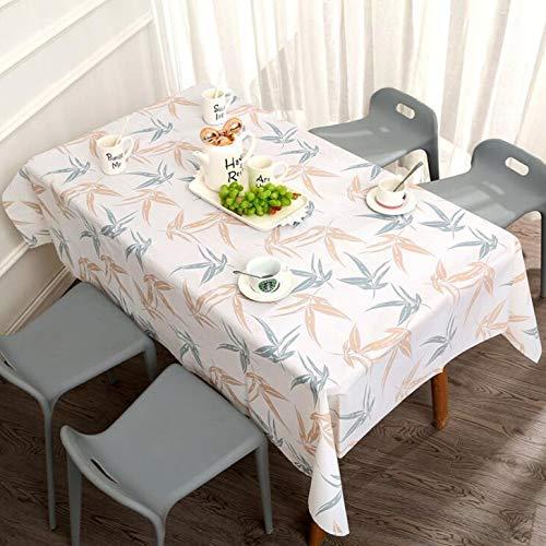 Mantel Mesa Rectangular Manteles Mesa De Centro Mantel A Prueba De Agua A Prueba De Aceite, Anti Escaldado Escritorio, Dormitorio, Sala De Estar,E-137X180