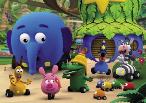 Clementoni - Puzzle Jungle Junction 2x20 24593.2