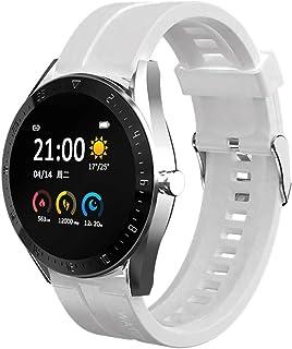 sqmanqi Slimme Horloges voor Heren en Dames, Smartwatch-Activiteitsarmband, Fitnesshorloge met Stappenteller, Slaapmonitor...