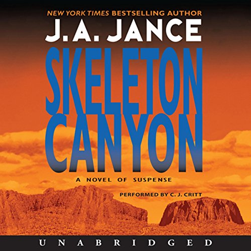 Skeleton Canyon audiobook cover art