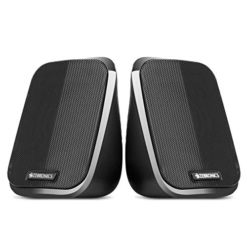 Zebronics Zeb-Fame 2.0 Multi Media Speakers with AUX, USB and Volume Control (Black)