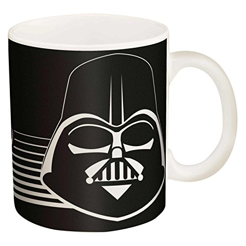 Zak Designs Star Wars Darth Vader Coffee Cup, Black