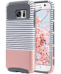 commercial ULAK S7 cover, Galaxy S7 cover, Samsung Galaxy S7 hybrid cover, edition 2016, dual layer, dual layer … ulak hybrid case
