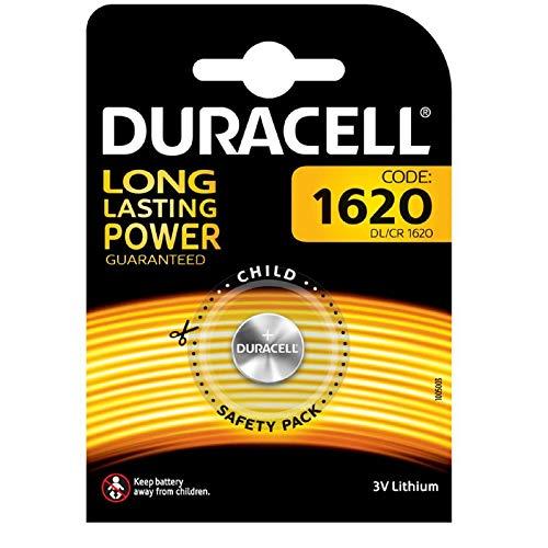 Duracell 5000394030367 DL1620 3V Lithium Knopfzellenbatterie 1-er Pack metallic