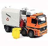 GYZS-TOY Camión de basura grande de construcción camión de...