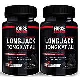 Force Factor Longjack Tongkat Ali 30ct 2-Pack, 60 Count