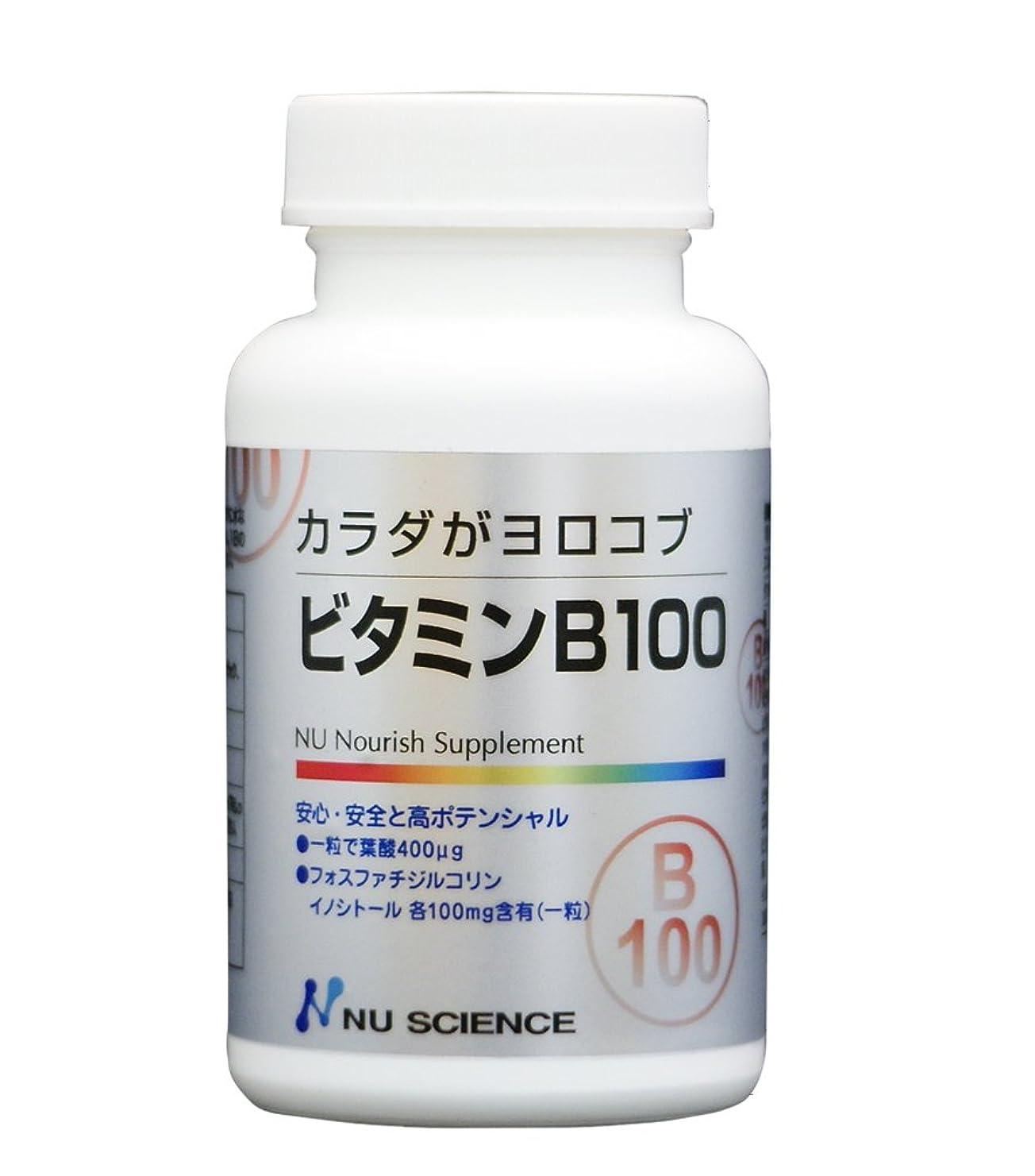 カビ時々考案するビタミンB100 60粒