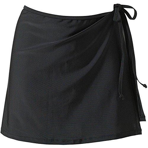 Minetom Ropa de Baño Para Mujeres Fundas de Bikini Con Falda Corta Playa Skirtini Plain Corto Sarong Una Cuerda