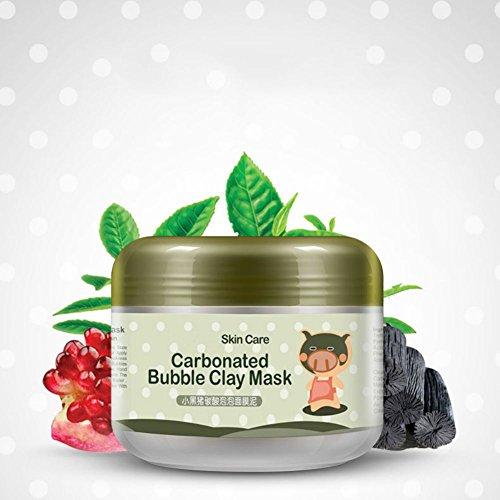 Cocohot Heißer Tiefenreinigung Ton-maske Kohlensäurehaltige Blase Anti-Akne Feuchtigkeitsspendende Gesichtsmaske