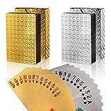 FT-SHOP Poker Cartas 2 Juegos Impermeable Juego de Mesa de Naipes de...