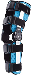 Hinged Knee Brace Knee Immobilizer Brace Leg Braces Orthopedic Patella Knee Brace Knee Immobilizer Brace Support Orthosis,...