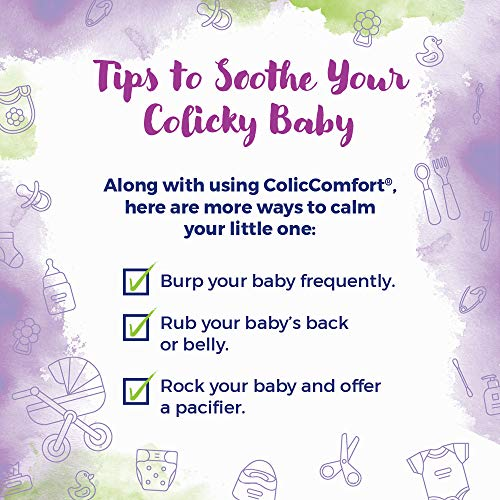 Boiron Coliccomfort Baby Colic Relief Medicine Drops, 30Count