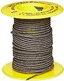 Mitchell Abrasives 51 Round Abrasive Cord, Aluminum Oxide 120 Grit .055' Diameter x 50 Feet