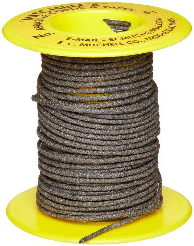 Mitchell Abrasives 51 Round Abrasive Cord, Aluminum Oxide 120 Grit .055