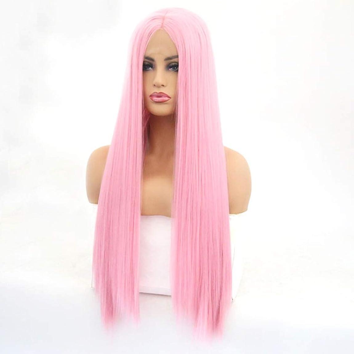 ロボット締め切り穴Summerys 女性のための長いストレートの波状のかつらかつらかつら合成繊維髪かつら自然に見えるかつら