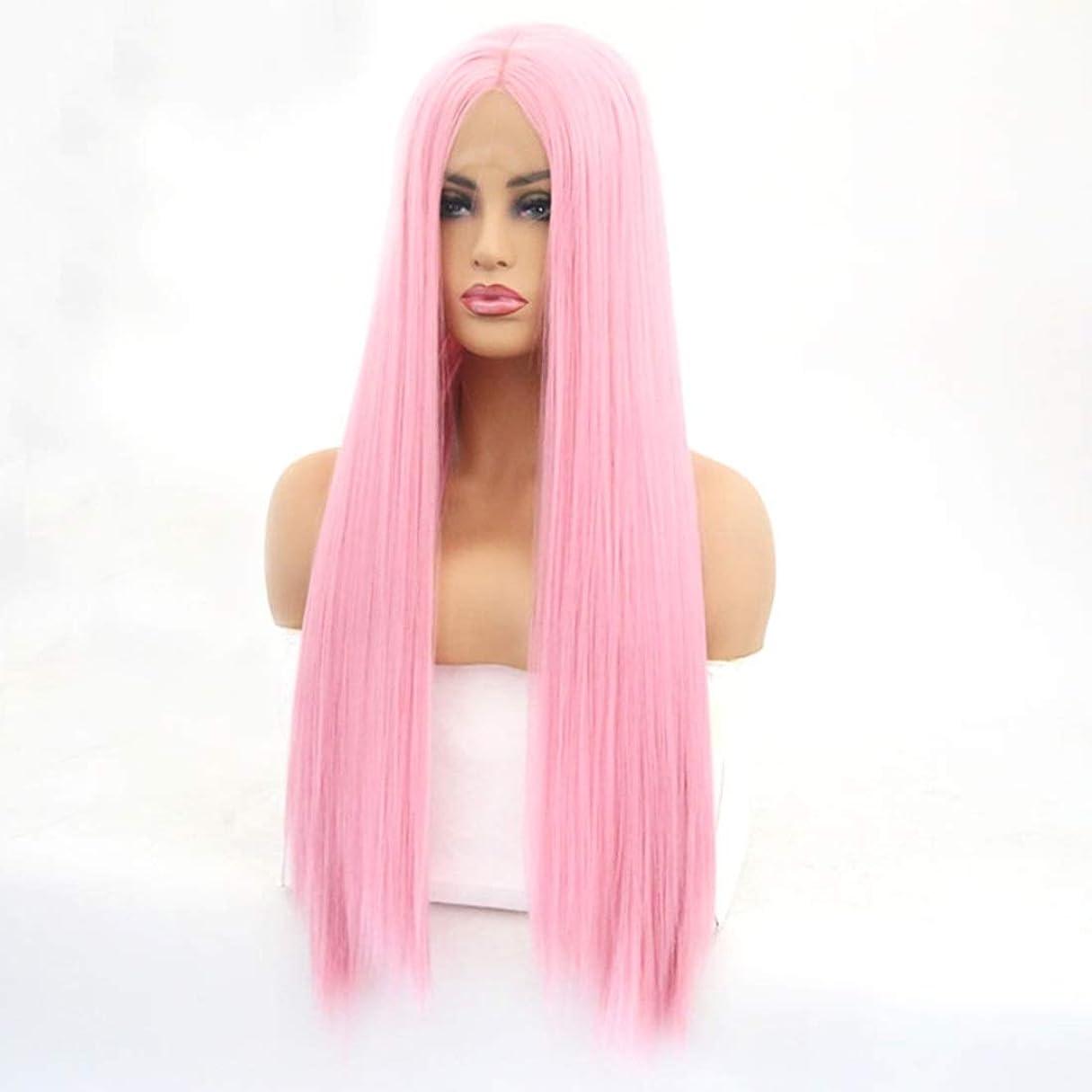 第二に洋服失うSummerys 女性のための長いストレートの波状のかつらかつらかつら合成繊維髪かつら自然に見えるかつら