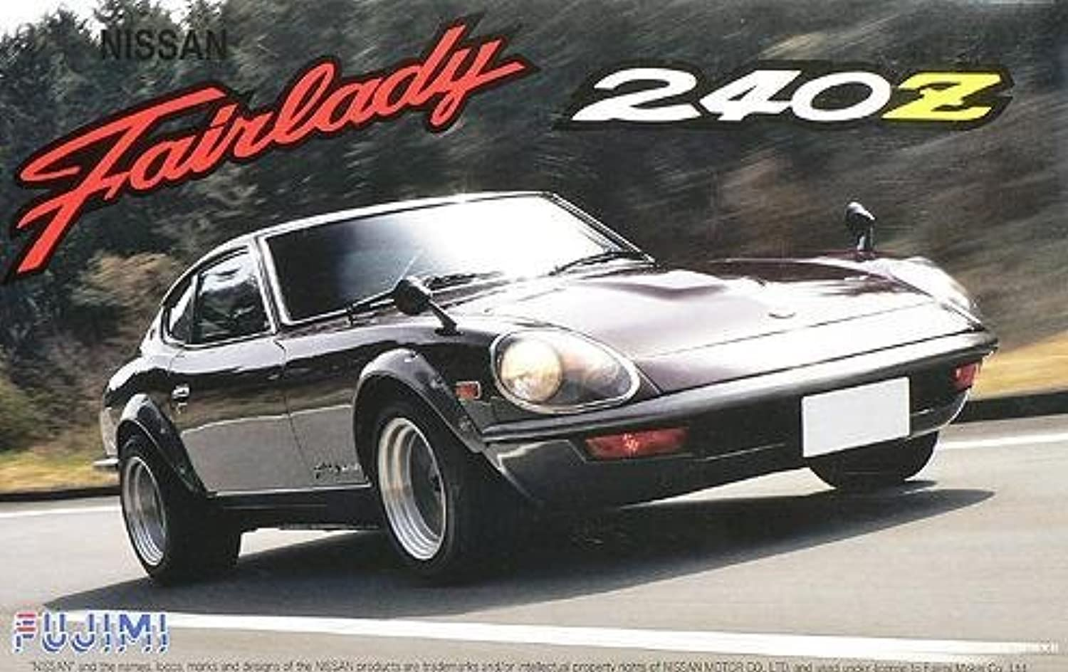 1 24 car SPOT series selfSP58 Fairlady 240ZG vehicle package
