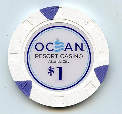 $1 Ocean Resort & Casino 1st Issue House chip 2018 Atlantic City Casino Chip in Uncirculated New Condition Former Revel Real Live Chip