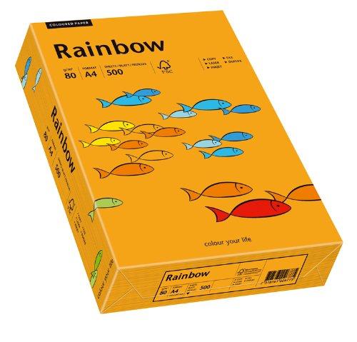 Papyrus 88042431 Druckerpapier Rainbow 80 g/m², A4 500 Blatt orange