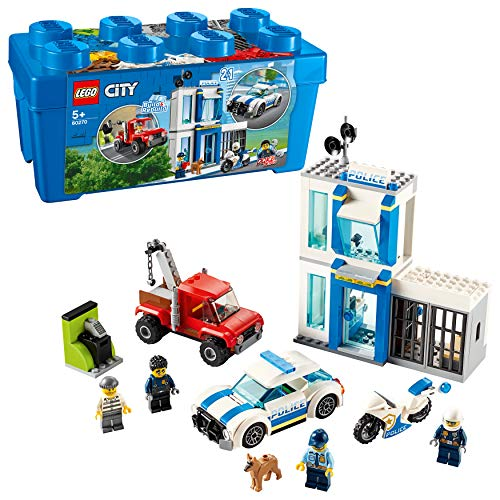 LEGO City 60270 Polizei-Steinebox 301 Piezas