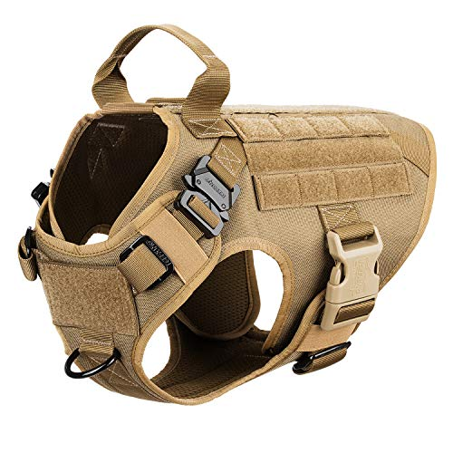 ICEFANG Dog Harness Medium Breed,Tactical...