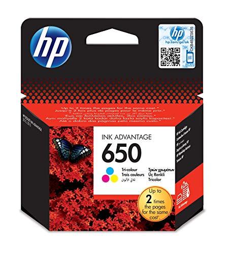 HP 650 - Cartucho de Tinta para impresoras
