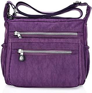 Tricherry Women Tote Messenger Cross Body Bag Handbag Ladies Shoulder Bag Purse Waterproop