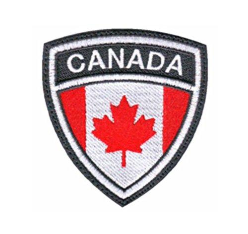 MAREL Patch Flag Bandera CANADÁ parche termoadhesivo