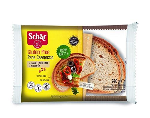 Schär Pane Casereccio - Pacco da 5 x 240 g, Senza glutine