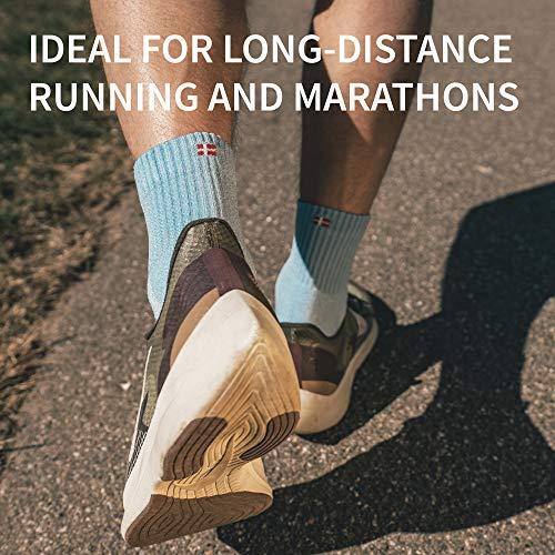 長距離走用靴下,マルチパック,通気性,クッション性,靴擦防止,ジョギング,ランニング,マラソン,スポーツ,マルチパフォーマンス,メンズ&レディースブラック/グレー25.0~28.0cm3足