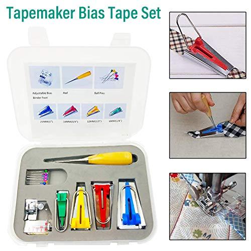 Kytree Machine Tool Patchwork DIY Binding Multifunctional Quilting Tool Sewing Accessory Tapemaker Bias Tape