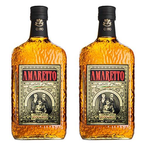 Caffo Amaretto Di Limbadi set om 2, mandelamaretto, sprit, alkohol, flaska, 30 %, 2 x 700 ml