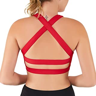 Best black and red sports bra Reviews