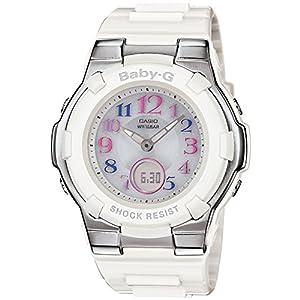[カシオ] 腕時計 ベビージー 電波ソーラー BGA-1100GR-7BJF ホワイト