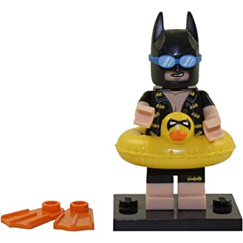 Batman Movie lego mini figure x3 ERASER CALCULATOR ZODIAC