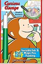 Curious George Monkey Business 2 in 1 Invisible Ink & Magic Pen Painting