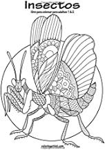 Insectos libro para colorear para adultos 1 & 2 (Spanish Edition)