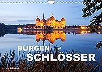 Burgen und Schloesser (Wandkalender 2022 DIN A4 quer): 13 eindrucksvolle deutsche Burgen und Schloesser (Monatskalender, 14 Seiten )