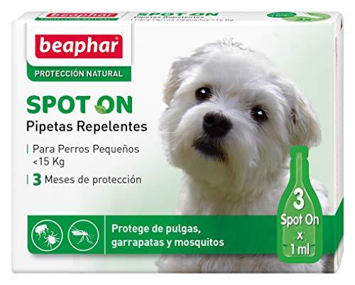 Beaphar pipetas repelentes, Perro pequeño, 3 Unidades