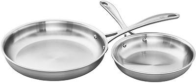 ZWILLING Spirit Stainless Fry Pan Set
