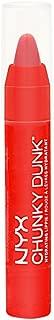 NYX Chunky Dunk Hydrating Lippie Lip Balm - CDHL05 Sex on the Beach (Red-Orange) 0.11 oz