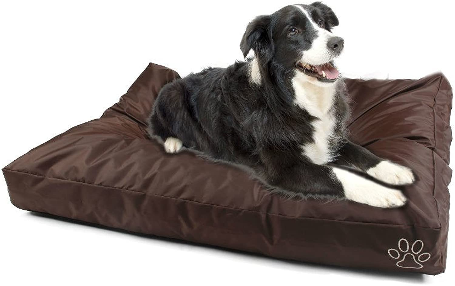 4 Pets DIY Dog Cushion Cover Pet Mat Case Do It Yourself Brown color Oxford XL