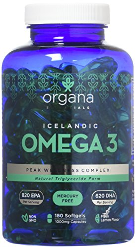 TRIPLE STRENGTH: Fish oil from wild caught and sustainably sourced fish provides 1,440 mg of Omega-3 Fatty Acids (620 mg DHA, 820 mg EPA) per serving (2 capsules). Compared to other brands, we provide 3-4 times the amount of Omega-3s, packing more nu...