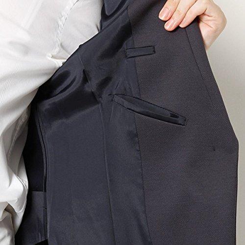 『アールユー(ru) セットアップスーツ・ジャケット(カルゼニット テーラージャケット)【クロ/7(S)】』の7枚目の画像