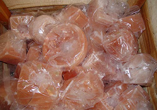 Real Salt Lamps Himalayan Salz Leckensalz, 44 kg, Pferderinder, Kuh, natürliches Salz, Mineral, organisches Futter, gebrochene & zersplitterte Salzlampen & Kerzenhalter, Chunks Größe kann variieren