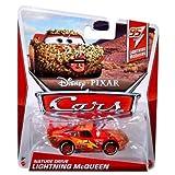 Disney / Pixar CARS MAINLINE 1:55 Die Cast Car Nature Drive McQueen [95 Lightning McQueens 5/5]